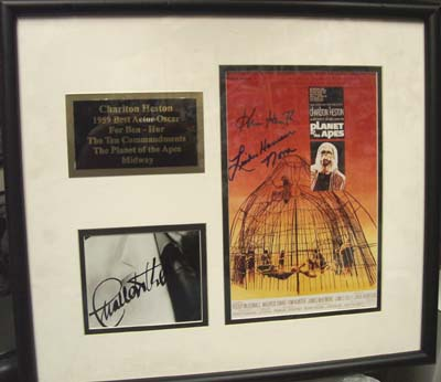Autographed Planet of the Apes