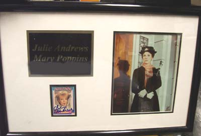 Autographed Mary Poppins