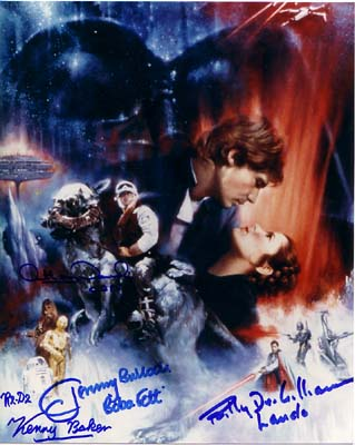 Autographed Empire Strikes Back