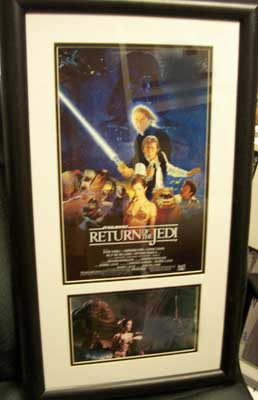Autographed Carrie Fisher - Return of the Jedi