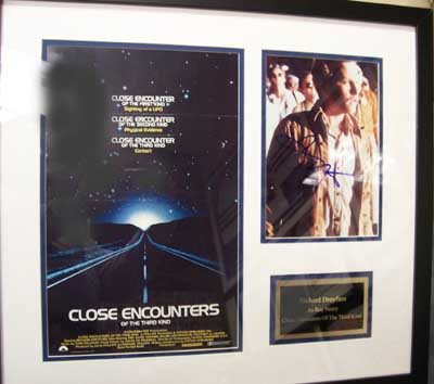 Autographed Close Encounters of the Third Kind