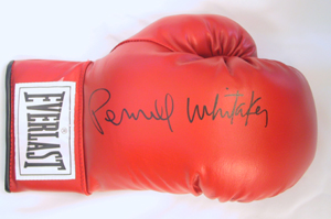 Autographed Pernell Whitaker