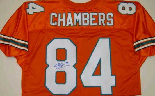 Autographed Chris Chambers