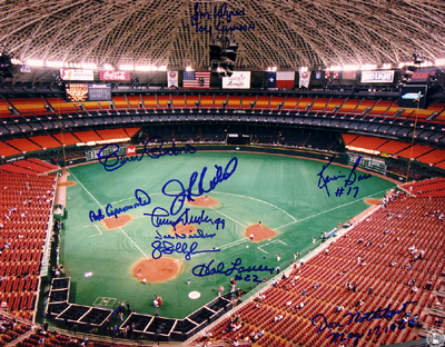 Autographed Houston Astros Legends