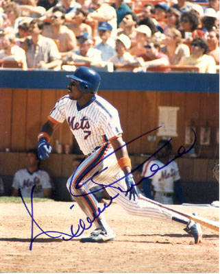 Autographed Kevin Mitchell