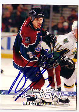 Autographed Brent Sopel