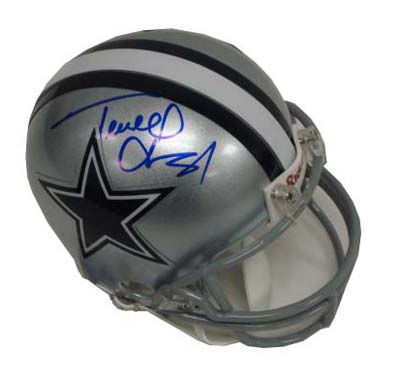 Autographed Terrell Owens