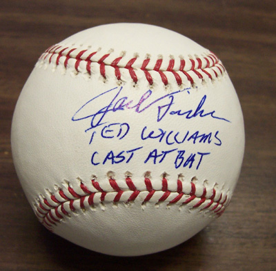 Autographed Jack Fisher