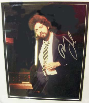 Autographed Billy Joel