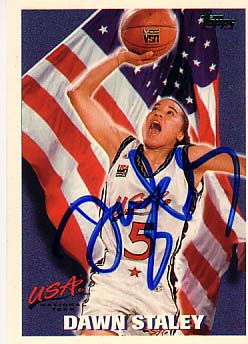 Autographed Dawn Staley