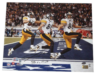 Autographed Hines Ward