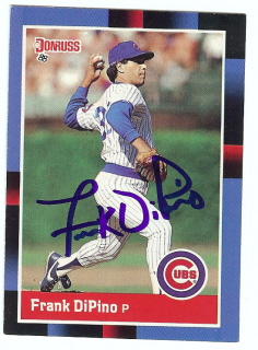 Autographed Frank DiPino