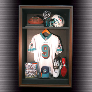 Autographed Locker Room Display Cabinet Case