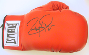 Autographed Barry McGuigan
