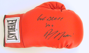 Autographed Johnny Tapia