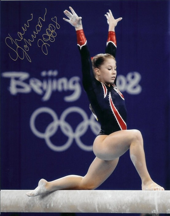 Autographed  Shawn Johnson