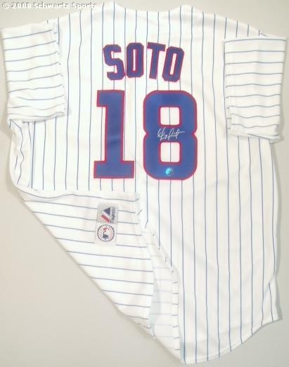 Autographed  Geovany Soto