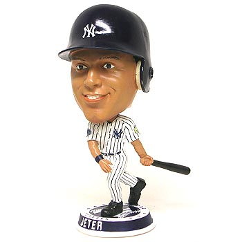 Autographed NY Yankees Derek Jeter Final Season Stadium  Bobble Head