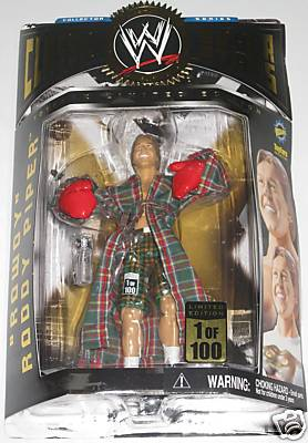 Autographed Roddy Piper