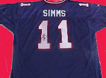 Autographed Phil Simms