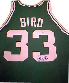 Autographed Larry Bird
