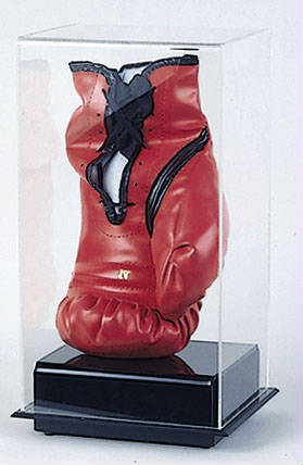 Autographed Boxing Glove Display Case