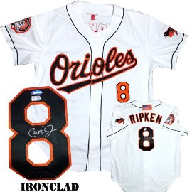 purchase cheap 89822 27181 Cal Ripken Jr. Autographed Jersey