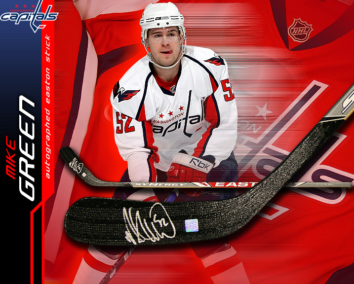 Autographed Mike Green