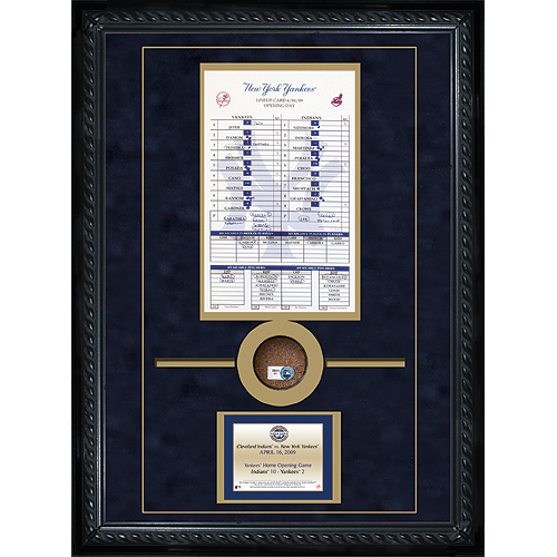 Autographed 2009 Opening Day