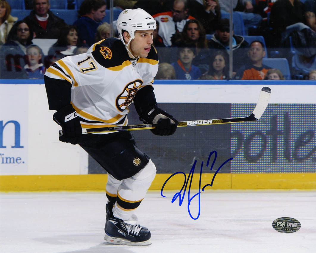 save off 1feb2 959cd Milan Lucic Autographed 16x20