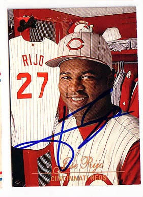 Autographed Jose Rijo