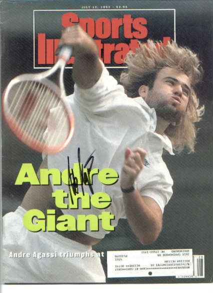 6912dca03128d4 Andre Agassi. Sports Illustrated ...