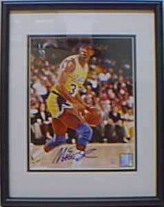 Autographed Magic Johnson