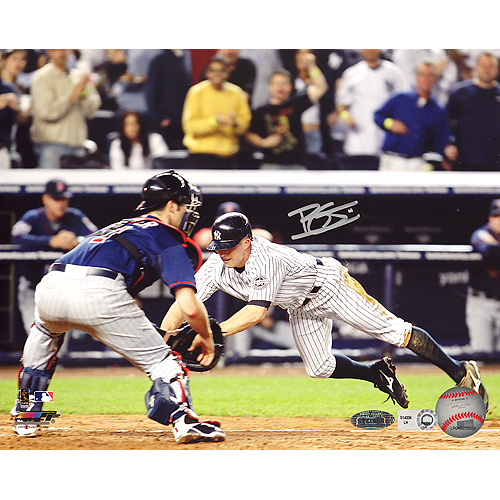 Autographed Brett Gardner Autographed Inside The Park Home Run 16x20 Photograph