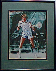 Autographed Jimmy Connors