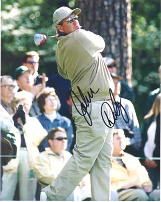 Autographed John Daly