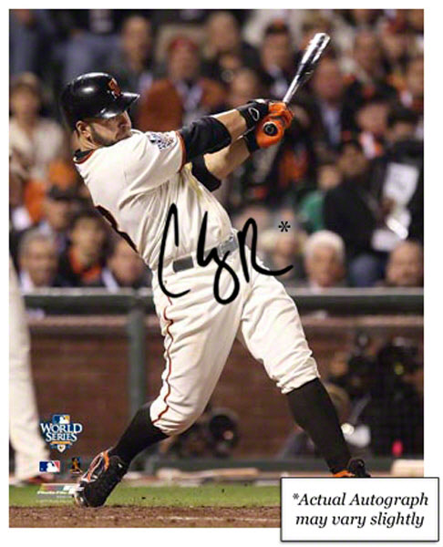 Autographed Cody Ross World Series
