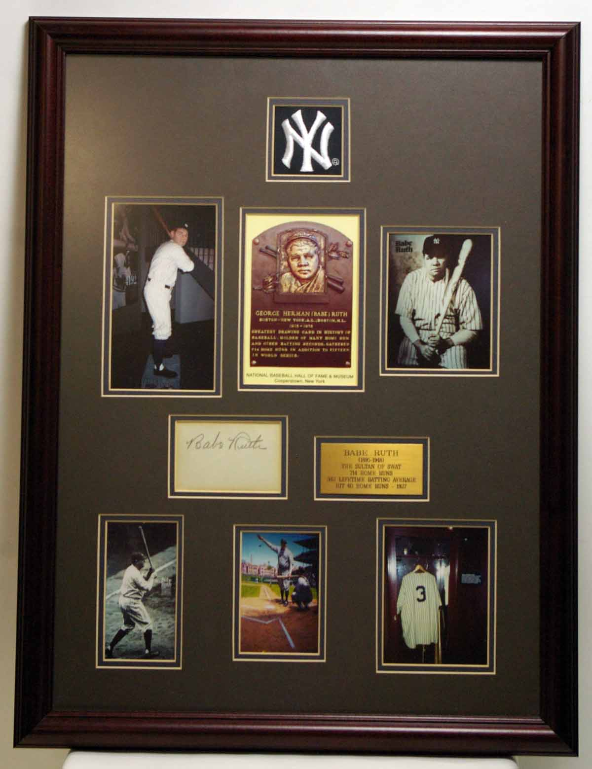 Babe Ruth Masterpiece Collage