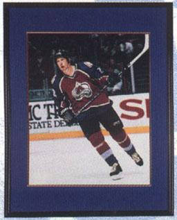 Autographed Peter Forsberg