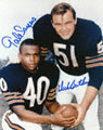 Autographed Dick Butkus & Gale Sayers