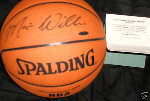 Autographed Marvin Williams