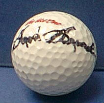 Autographed Sam Snead