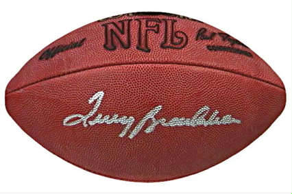 Autographed Terry Bradshaw