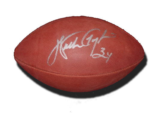 huge discount ac86f a24db Walter Payton Autographed Football