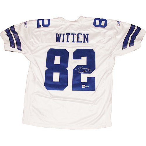 half off 2690b b4598 Jason Witten Autographed Authentic Cowboys Home Jersey ...