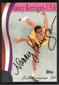 Autographed Nancy Kerrigan