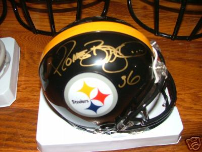 Autographed Jerome Bettis
