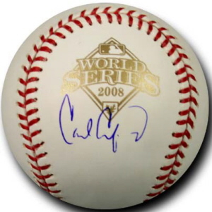 Autographed Carl Crawford