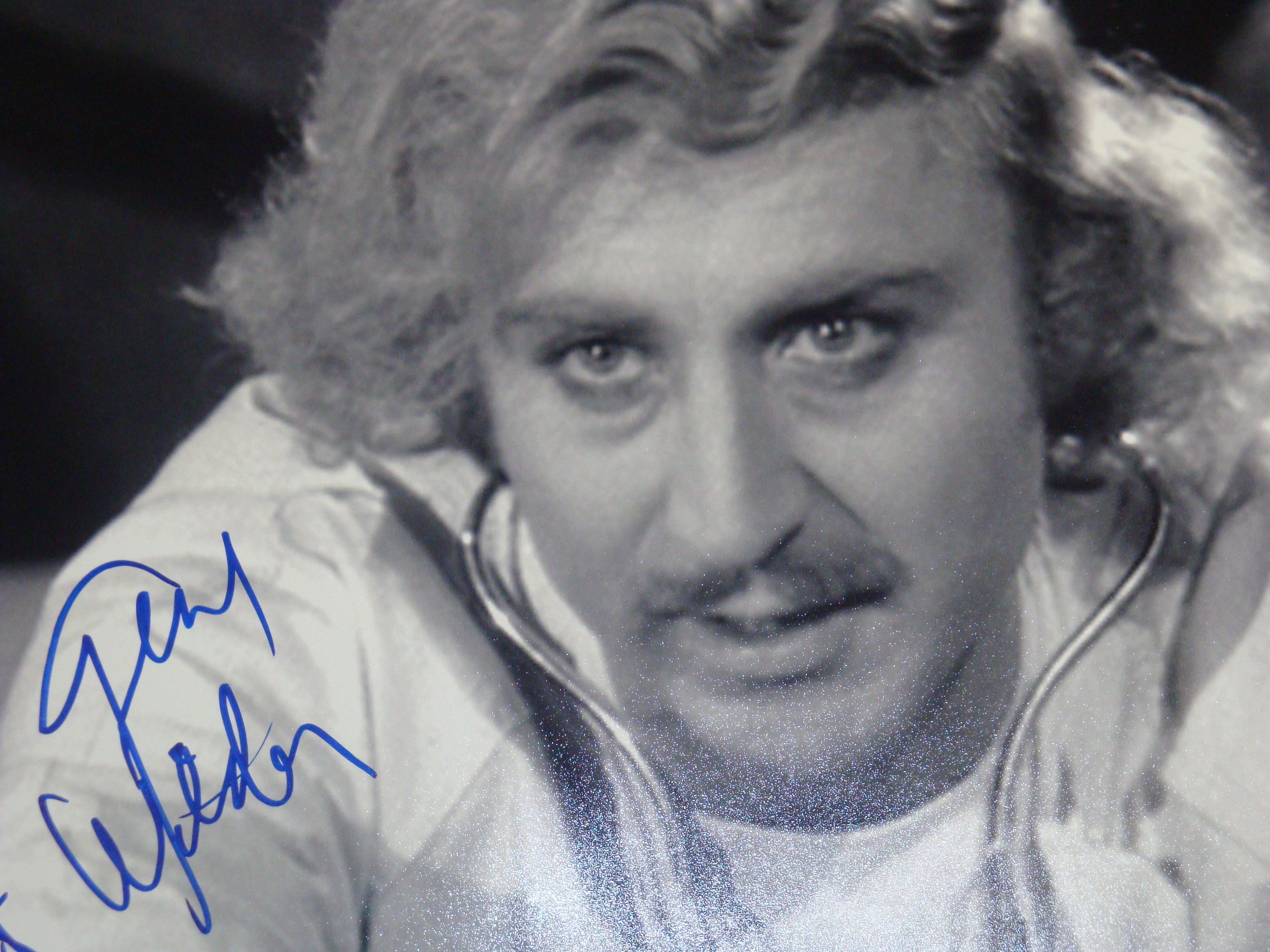 Gene wilder photo hand signed 11x14 with certificate of authenticity