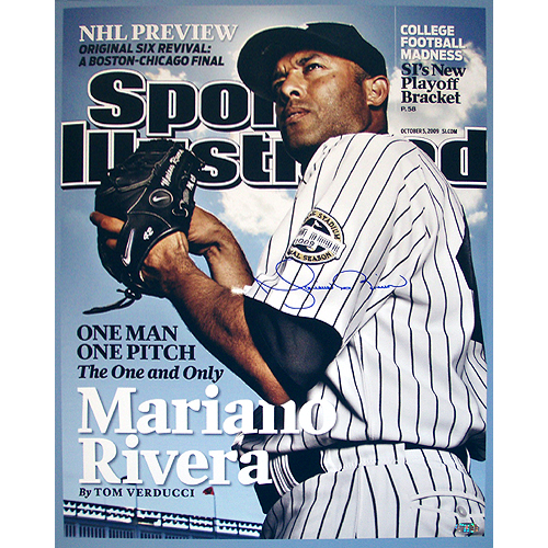 Autographed Mariano Rivera Sports Illustrated